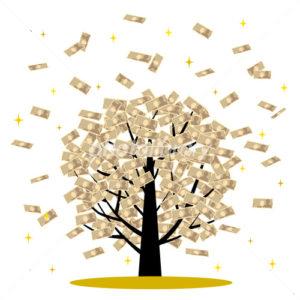 金のなる木 イラスト