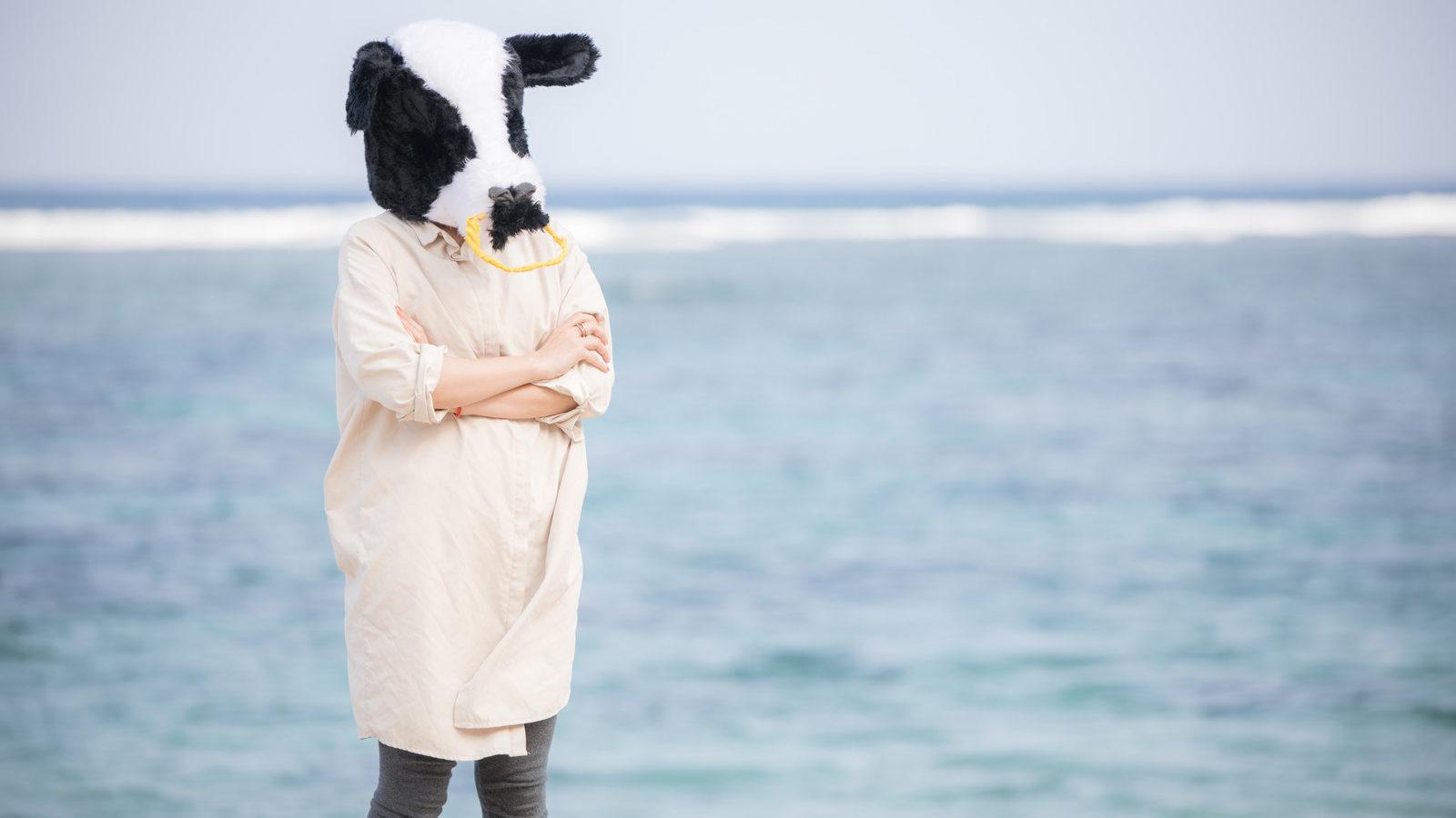 考えるエト牛